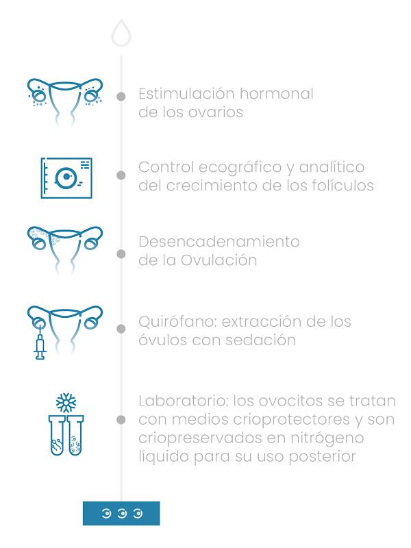 Preservación de la fertilidad - Vitrificación de óvulos